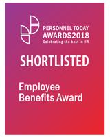 Personnel Today Awards 2018 - Employee Benefits Award